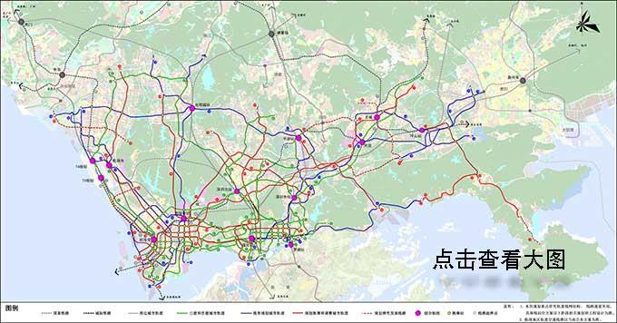 深圳龙华区有哪些地铁线路?未来将坐拥8条地铁